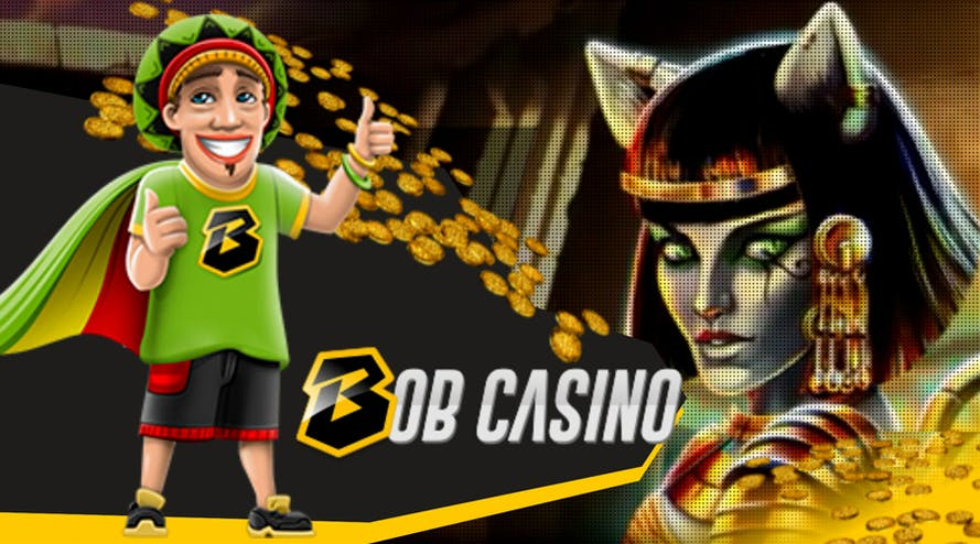 Bob Casino is giving out explosive 100% bonuses for your first deposit