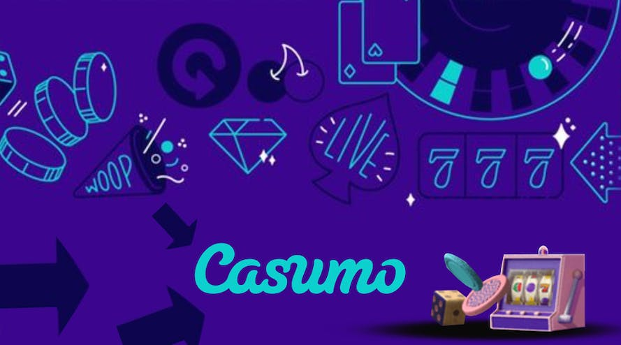 Casumo is offering an amazing 100% bonus for up to $300 deposits