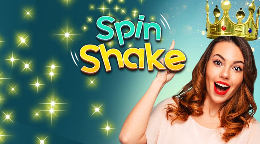 SpinShake has launched a special 100% deposit bonus