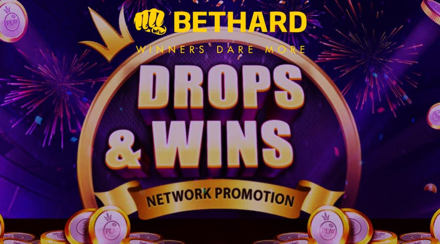 Bethard has launched new Drops and Wins six-month-long promotion