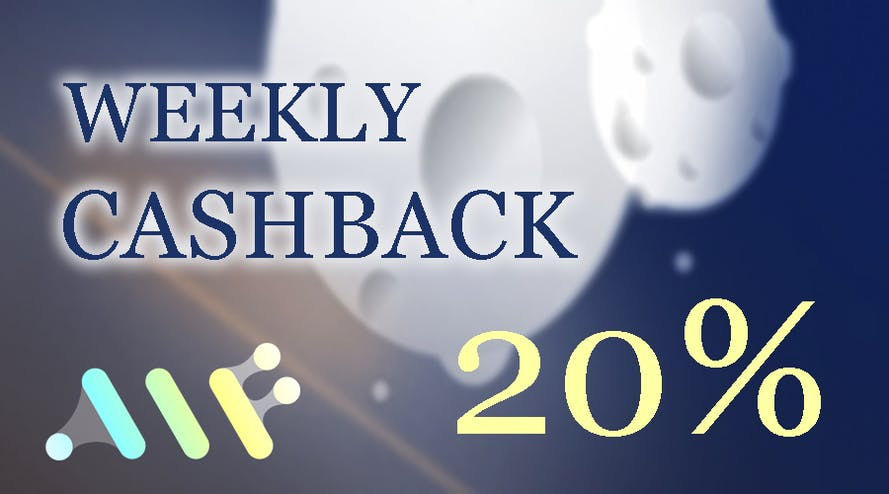 Get your deposits back with the weekly 20% cashback by AlfCasino