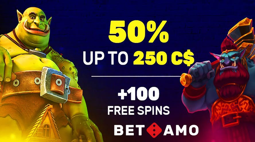 Betamo night out with 50 % Friday Reload bonus up to C$ 250 + 100 free spins