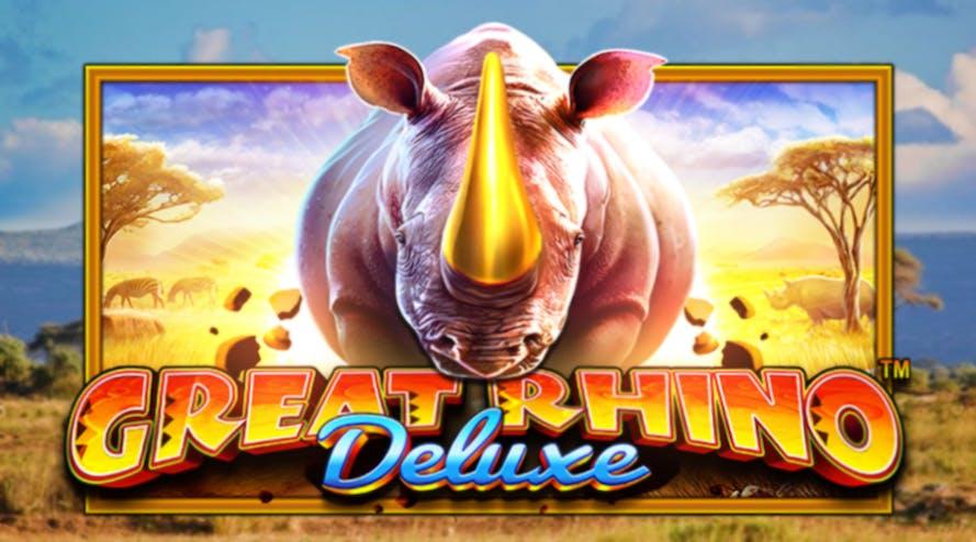 Meet the Pragmatic Play's African wildlife slot Great Rhino Deluxe