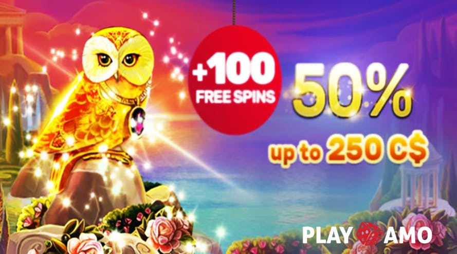 Spend your Friday night out with PlayAmo 50% Friday Reload bonus