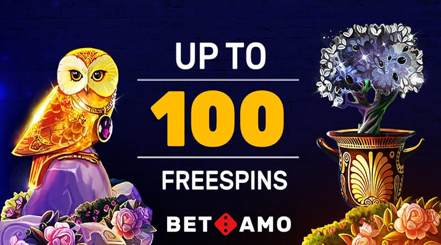 Start Monday with 100 Monday free spins from Betamo