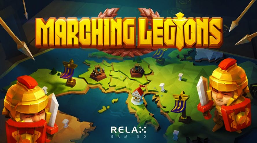 Relax Gaming is back with the Marching Legion slot game