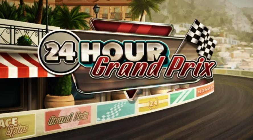 24 Hour Grand Prix: new slot game by Red Tiger is based on car racing