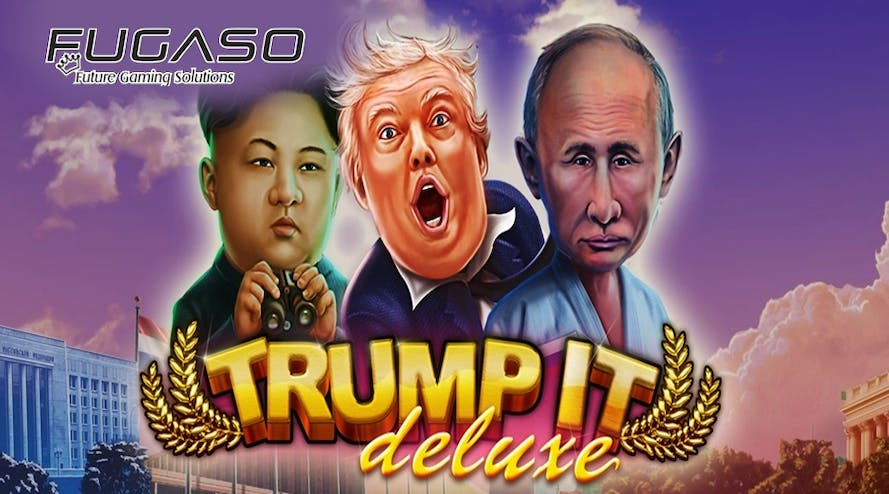 Fugaso game developer released the new slot game Trump It Deluxe
