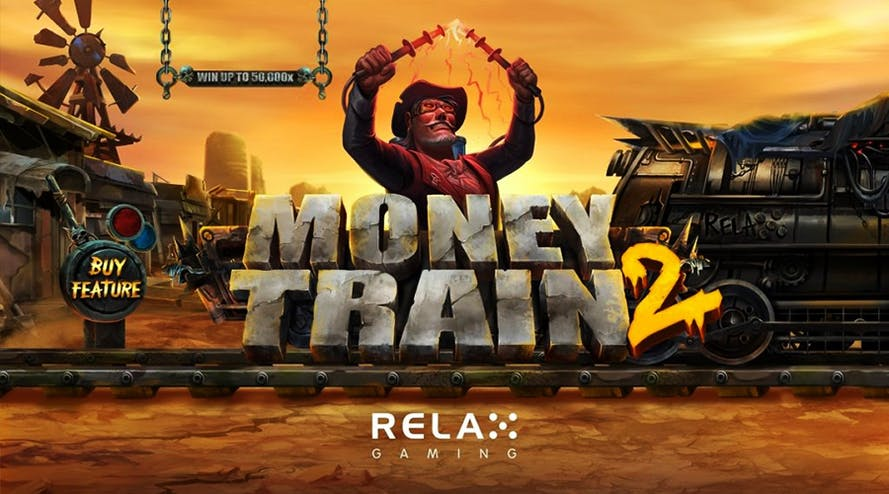 Fantastic jackpot and many bonuses: Money Train 2 by Relax Gaming