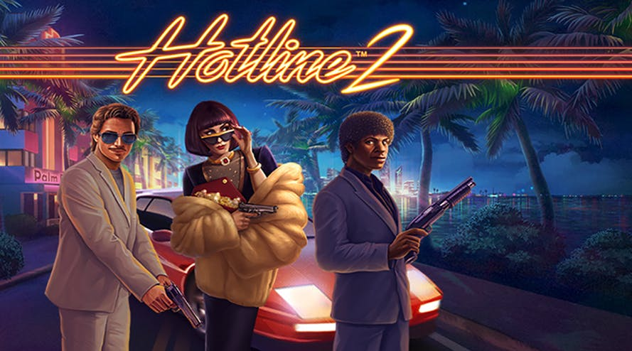 NetEnt is back with the Hotline 2 slot game
