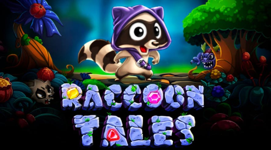 Raccoon Tales: new slot game by Evoplay with a cute story about a raccoon
