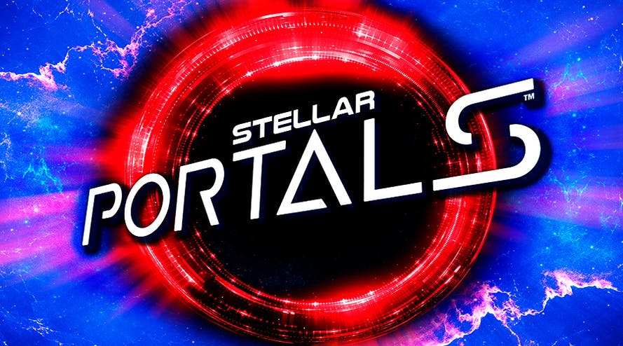 Welcome to space with the Stellar Portals slot released by Microgaming