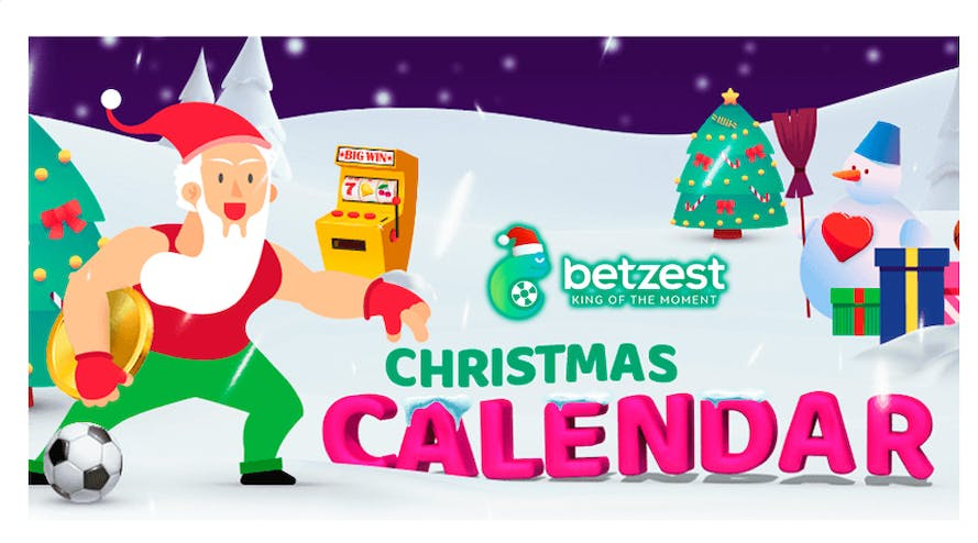 Count days and get bonuses with Betzest Christmas Calendar