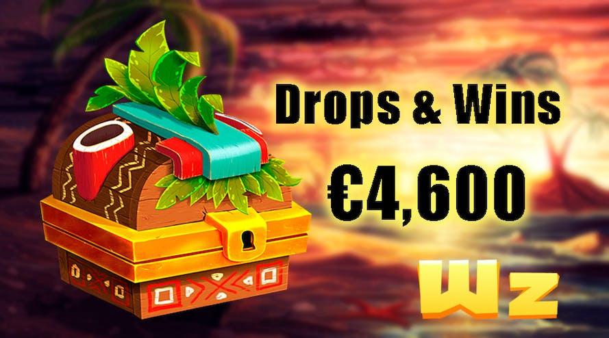 Drops and Wins with Wazamba online casino