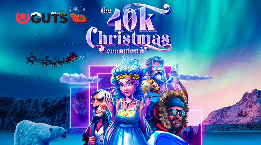 Open the Guts casino's door to the $40K Christmas prize pool