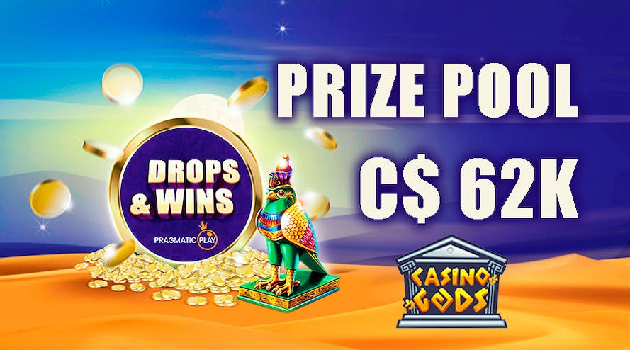 The heavens say it's time to win C$ 62K with Casino Gods