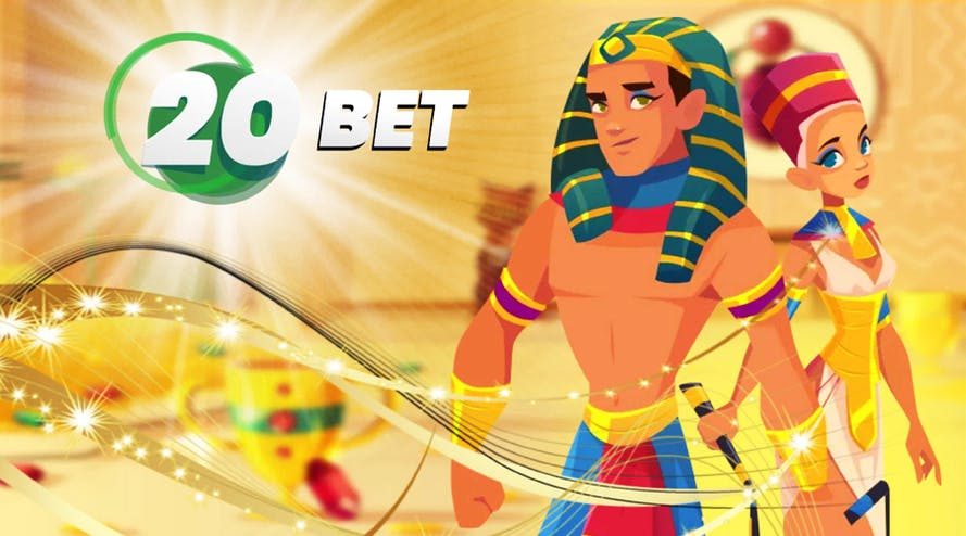 Join the 20Bet Casino and get 100% bonus up to C$180 + 120 free spins