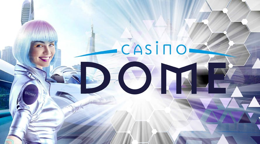 Get up to 200C$ + 21 free spins with 100% WELCOME BONUS by Casino Dome