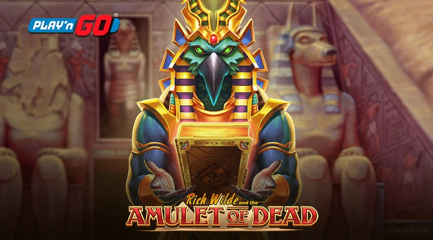 Rich Wilde and the Amulet of Dead Slot by Play'nGO