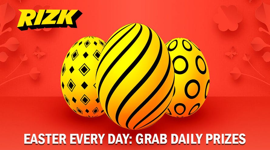 Three Weeks of Easter Promotion at Rizk Casino