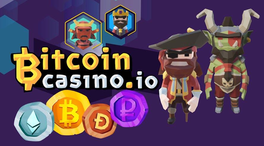 Introducing Bitcoincasino.io – Website designed like a Video Game!
