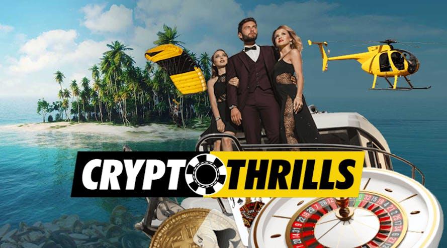 CryptoThrills – Cryptocurrency powered online casino